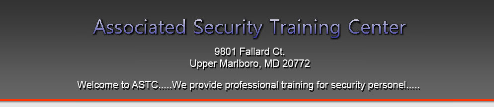 Associated Security Training Center